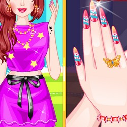 Nail design games art prinsesfo Images